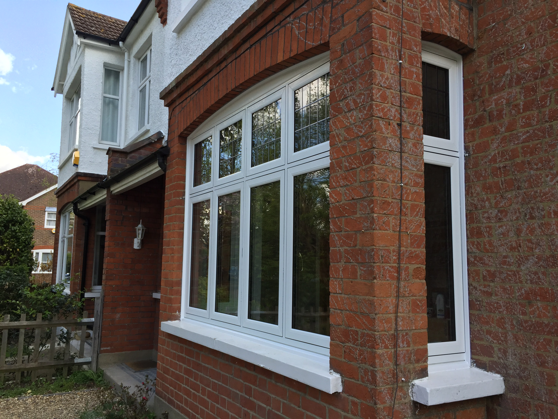 Flush Glazed Windows : Upvc flush sash windows sutton double glazed