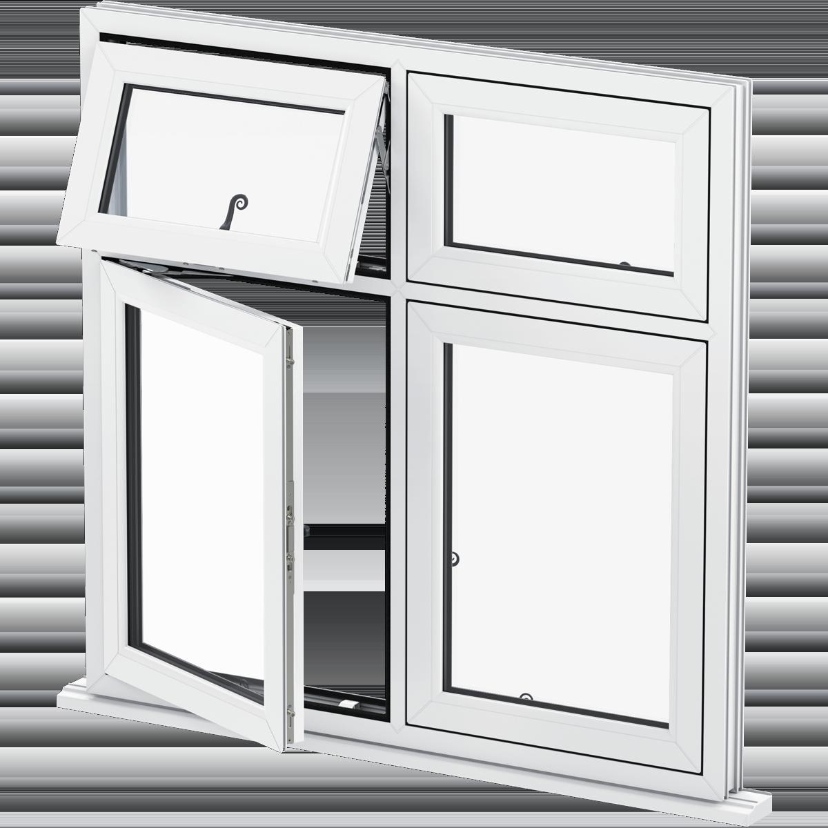Upvc flush sash windows sutton double glazed windows for Buy casement windows