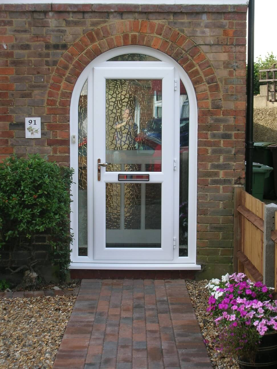 Upvc doors sutton front doors double glazed doors london - Upvc double front exterior doors ...