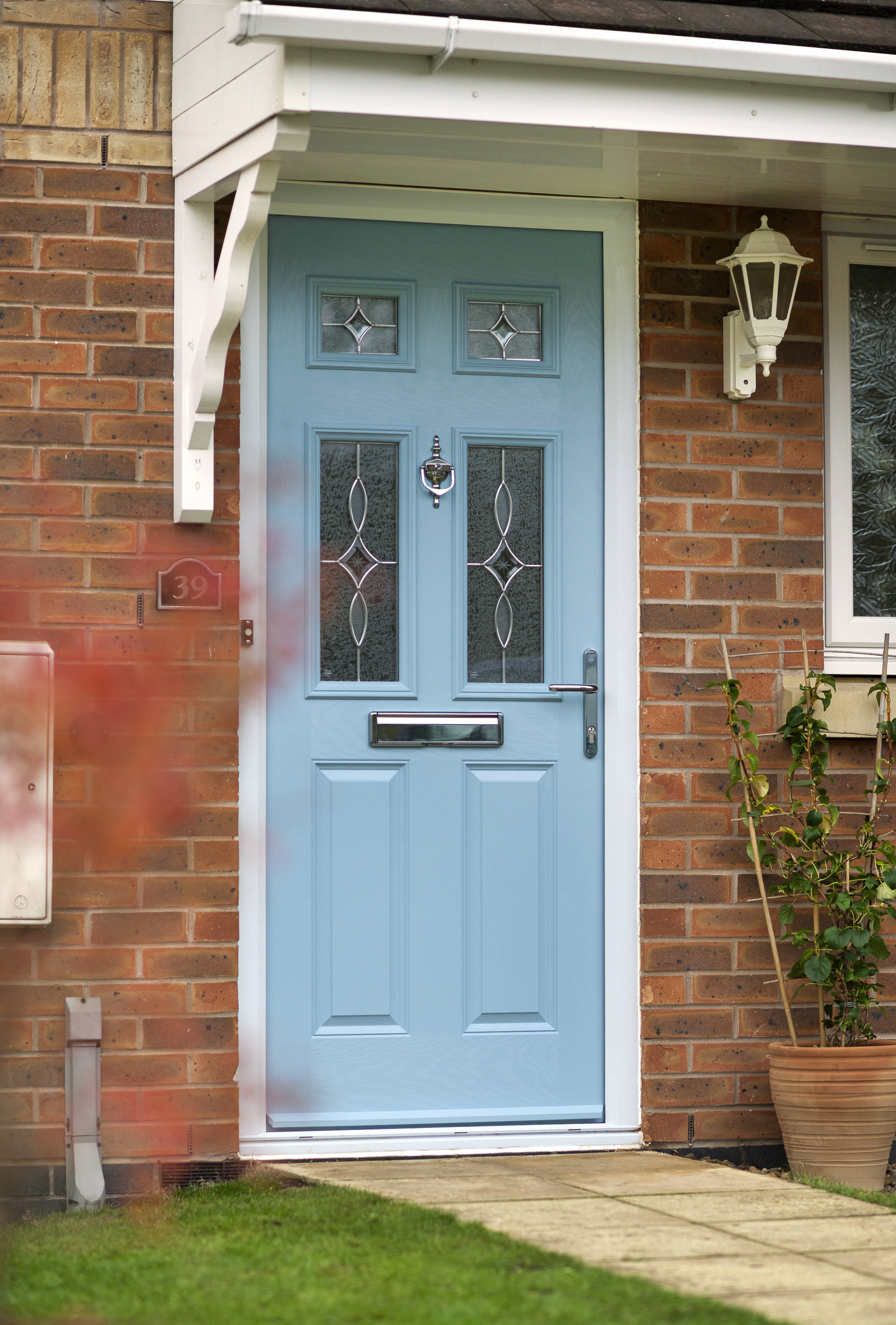 Composite Doors Stained Glass