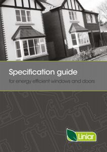 Liniar Specification Guide, Double Glazing Surrey