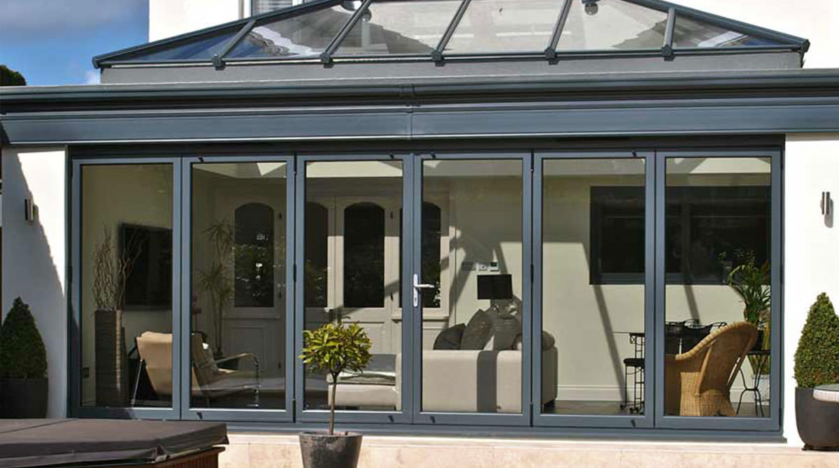 Aluminium Bi-Fold Doors Sutton, London
