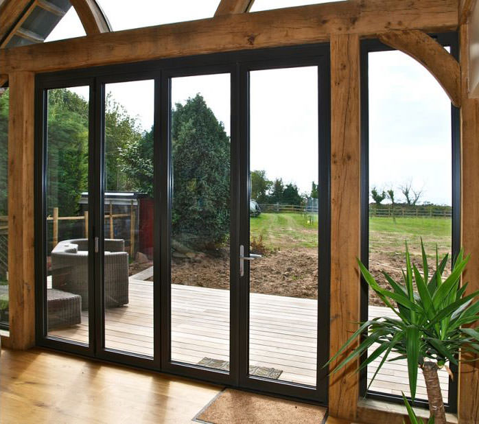 Aluminium Bi-Fold Doors Sutton