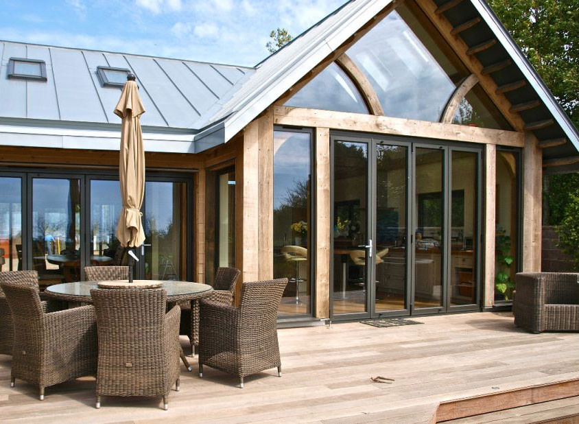 Aluminium Bi-Folding Doors Sutton
