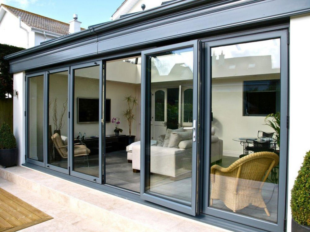 Aluminium Double Glazed Bi-Fold Doors London