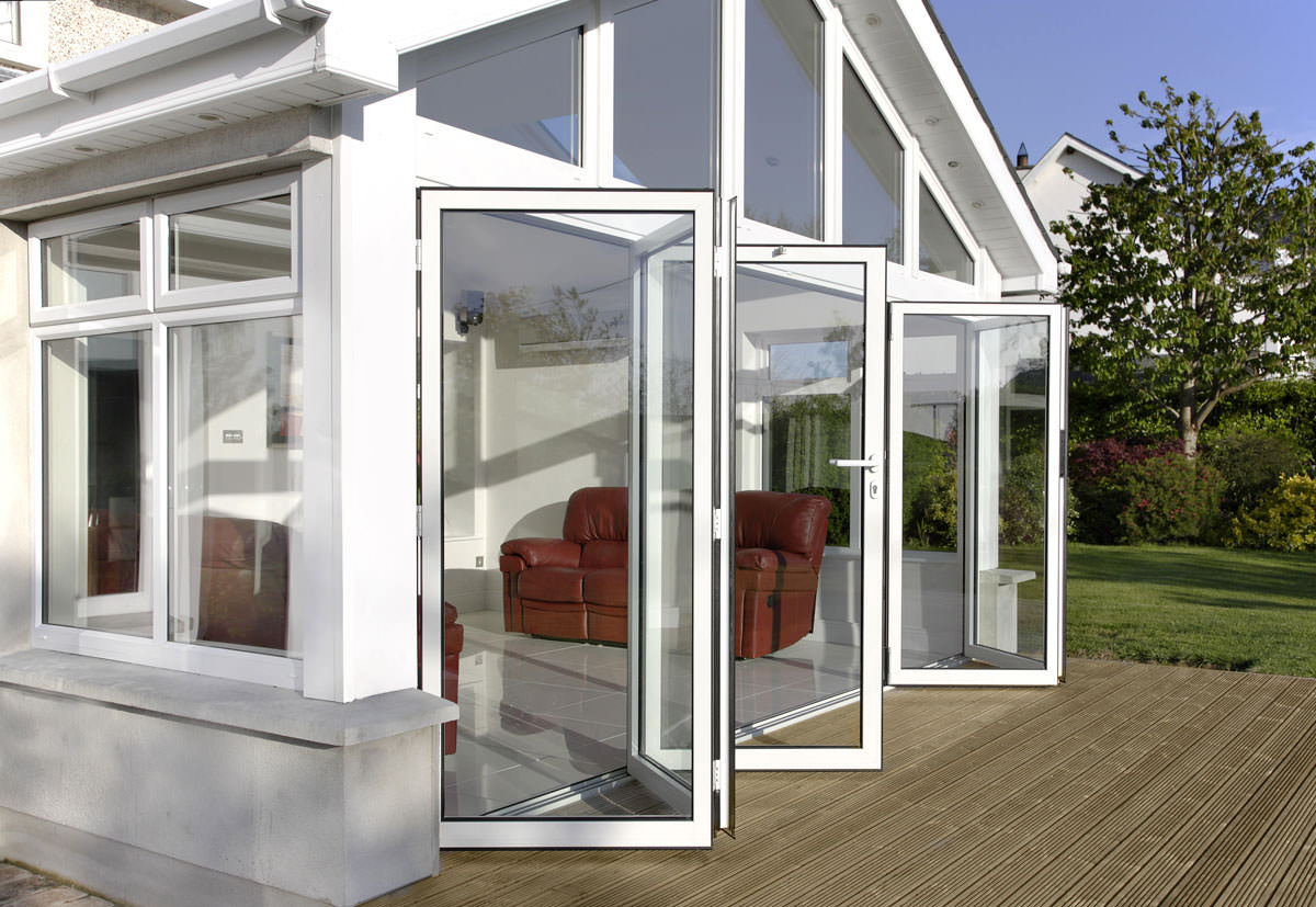 White Bi-Fold Doors Surrey