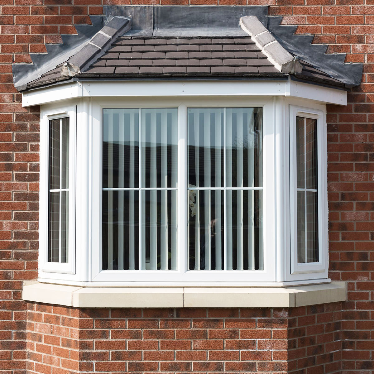 Upvc bow and bay windows sutton double glazed windows for Fenetre bay window