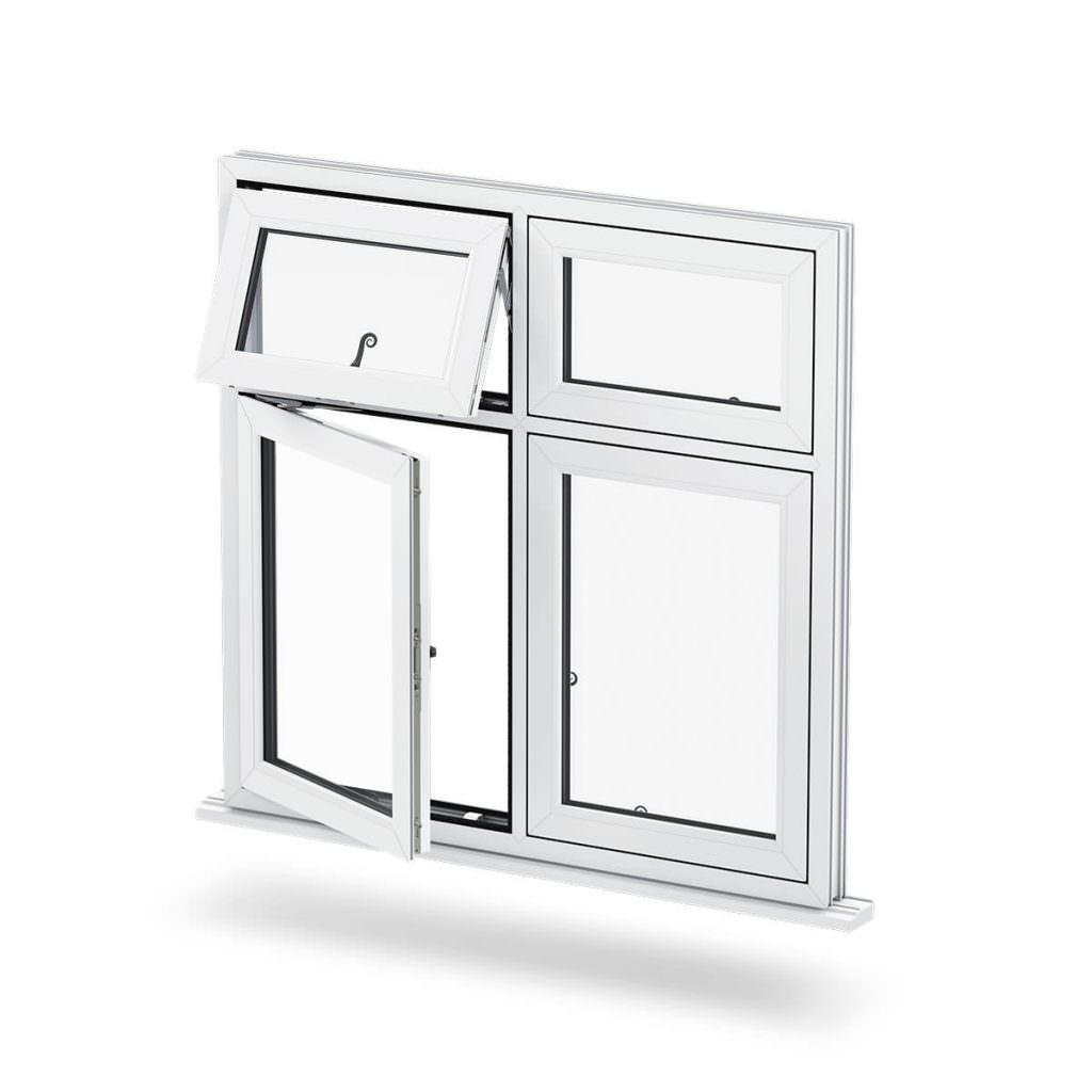 Flush Sash uPVC windows