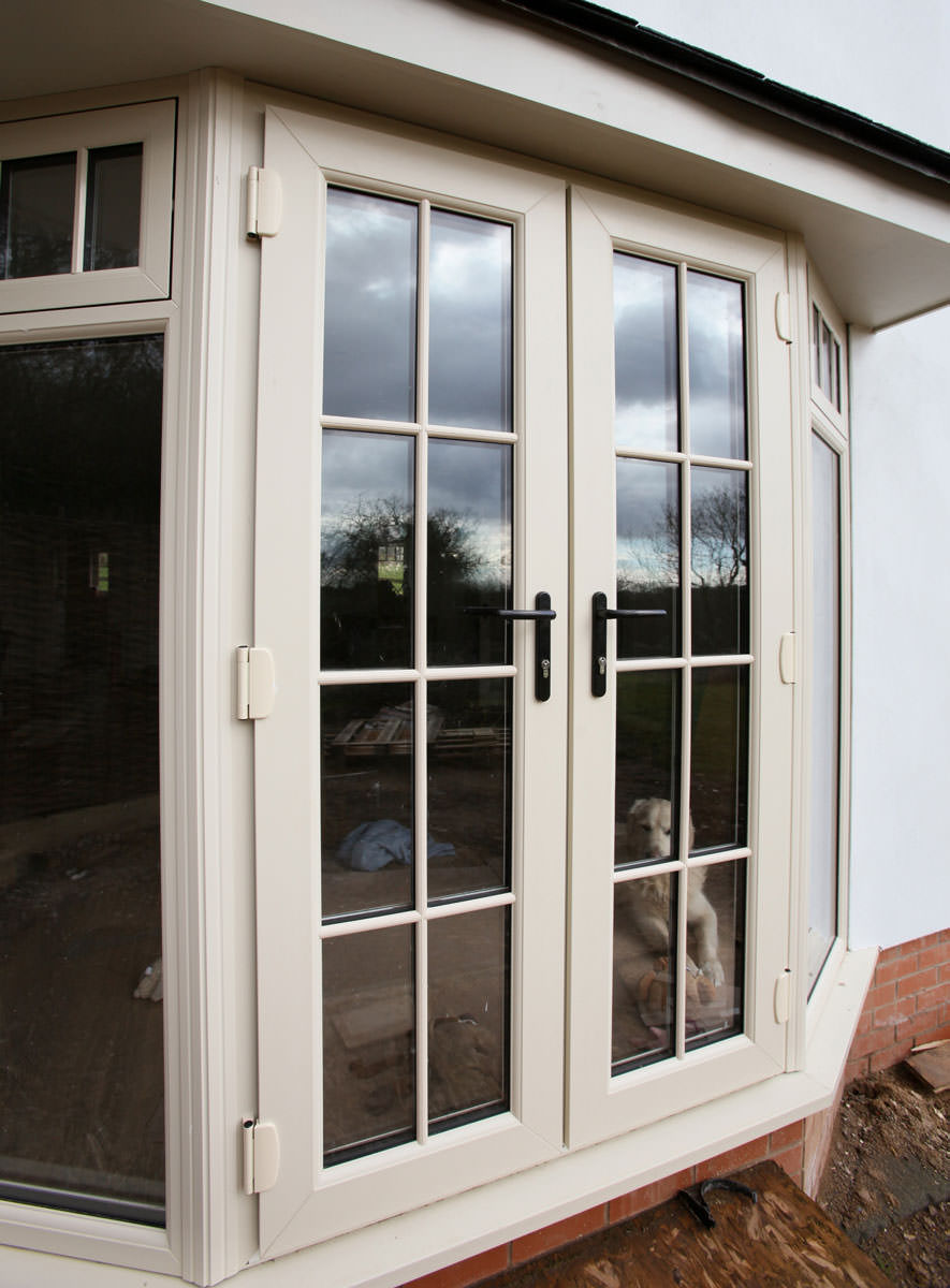 Upvc french doors sutton double glazed doors london for Upvc french doors used