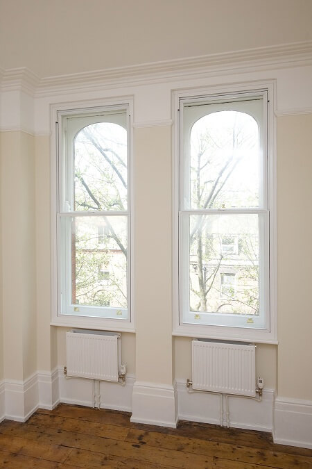 Vertical Sliding Secondary Glazing Sutton
