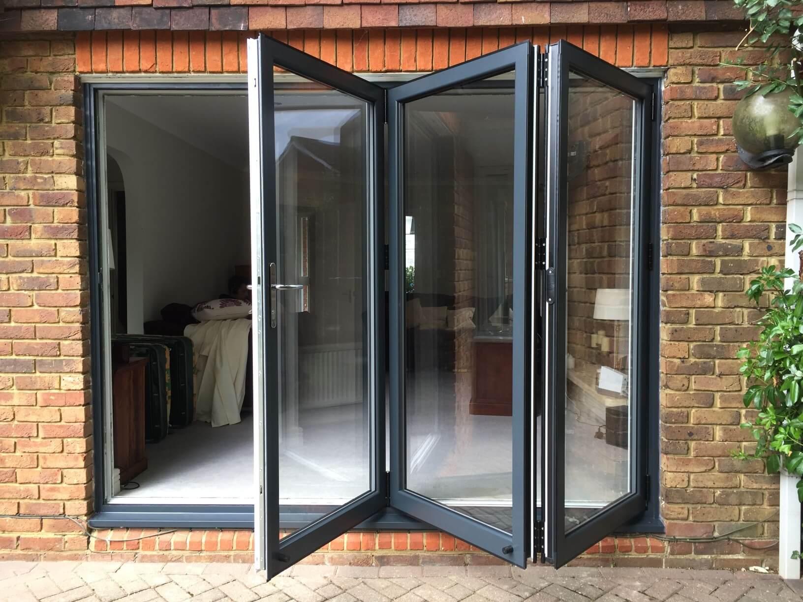 Aluminium Bifold Door Style in Croydon